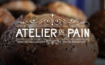 Ontwerp identiteit Atelier du Pain